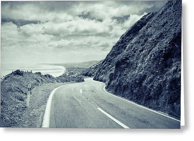 Paekakariki Greeting Card by Joseph Westrupp