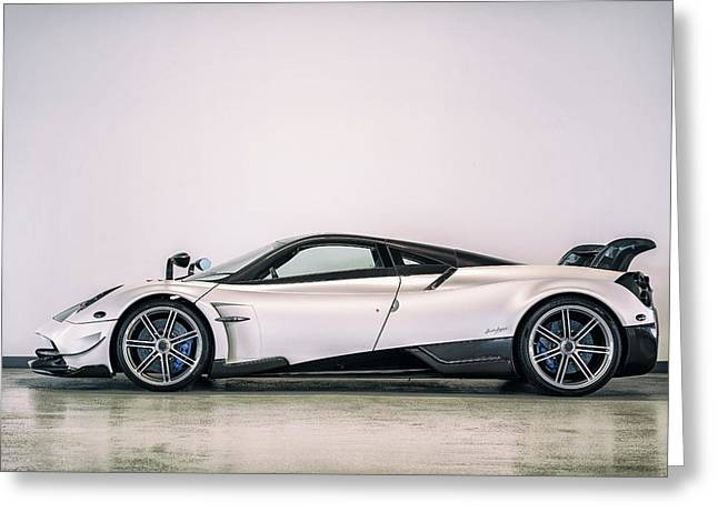 #pagani #huayra Bc Greeting Card