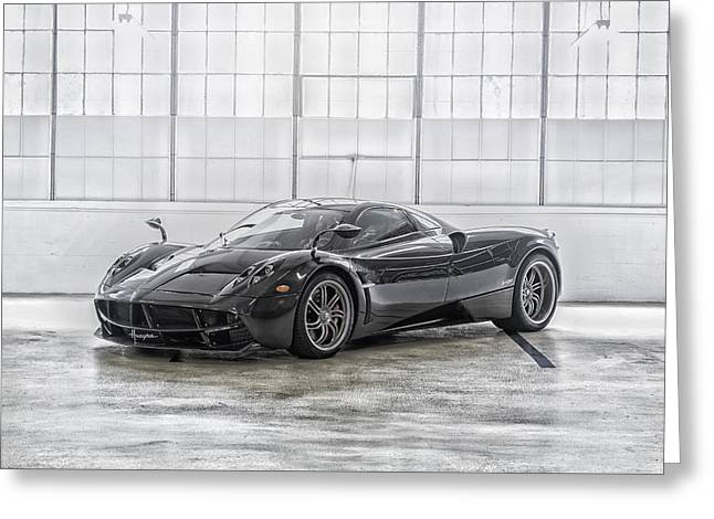 Pagani Huayra Greeting Card