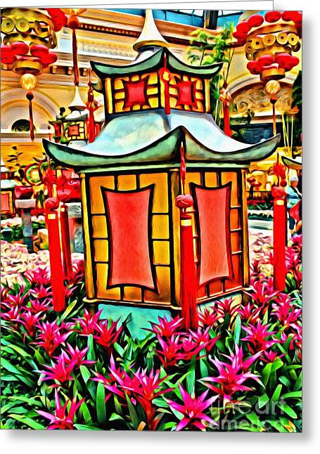 Greeting Card featuring the photograph Pagoda by Beauty For God