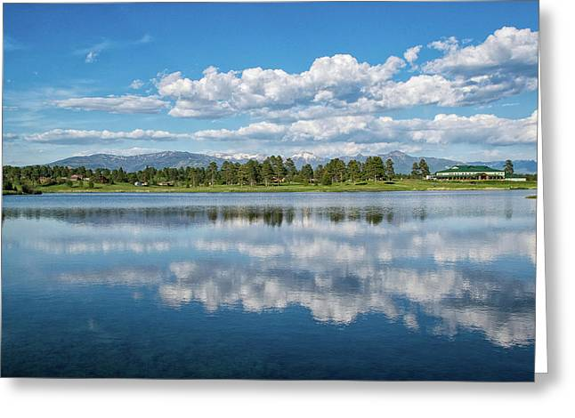 Pagosa Summer Reflections Greeting Card