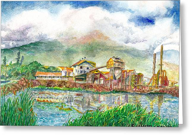 Paia Mill 1 Greeting Card