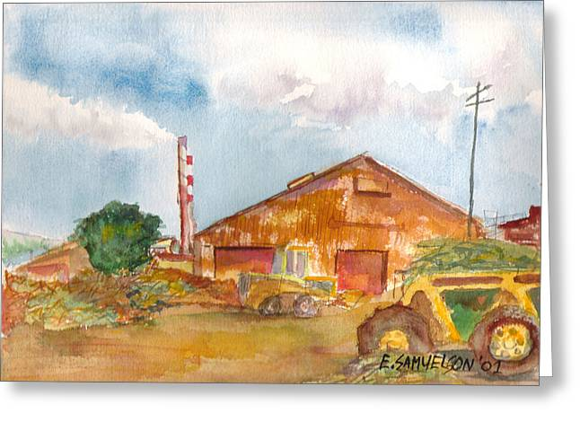 Paia Mill 3 Greeting Card