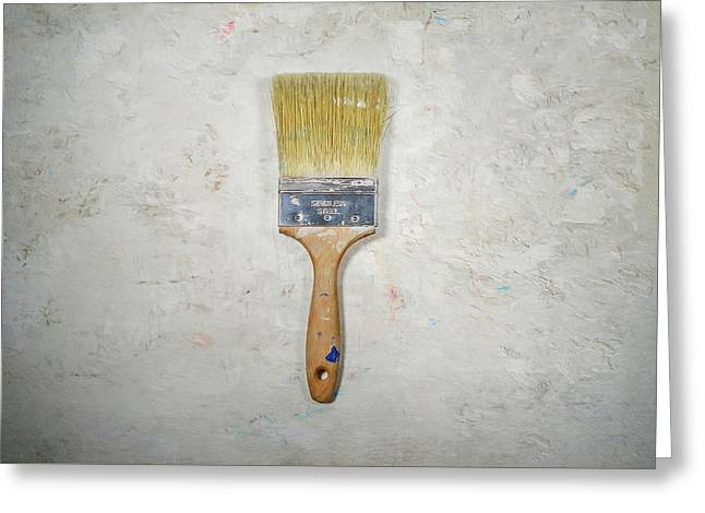 Paint Brush Greeting Card by Scott Norris
