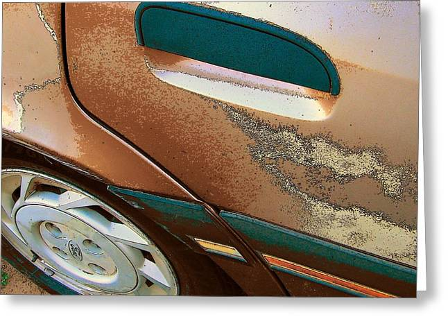 Paint Job Greeting Card by Lenore Senior