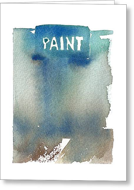 Paint Greeting Card by Meagan Healy