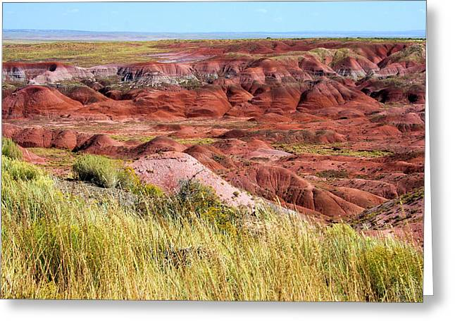 Painted Desert 0242 Greeting Card by Sharon Broucek