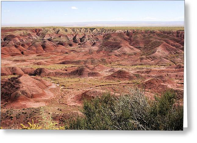 Painted Desert 0249 Greeting Card by Sharon Broucek