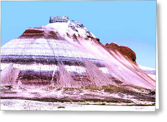 Painted Desert 0289 Greeting Card by Sharon Broucek