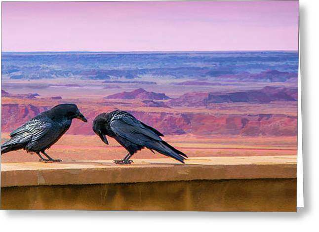 Painted Desert Pals Greeting Card