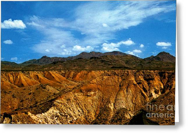 Painted Desert Greeting Card by Ruth  Housley