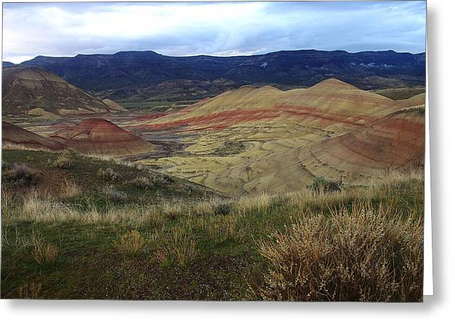 Painted Hills 1 Greeting Card