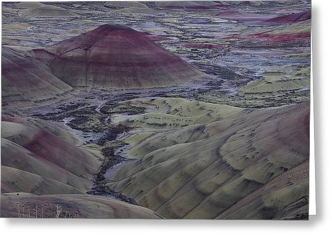 Painted Hills 2 Greeting Card