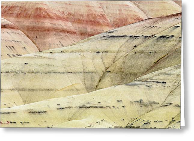 Painted Hills Ridge Greeting Card by Greg Nyquist