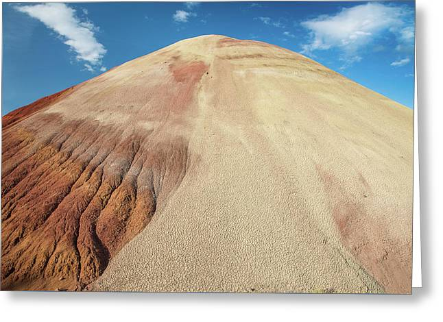 Greeting Card featuring the photograph Painted Mound by Greg Nyquist