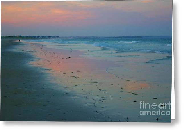 Painted Sand Greeting Card by Alice Mainville