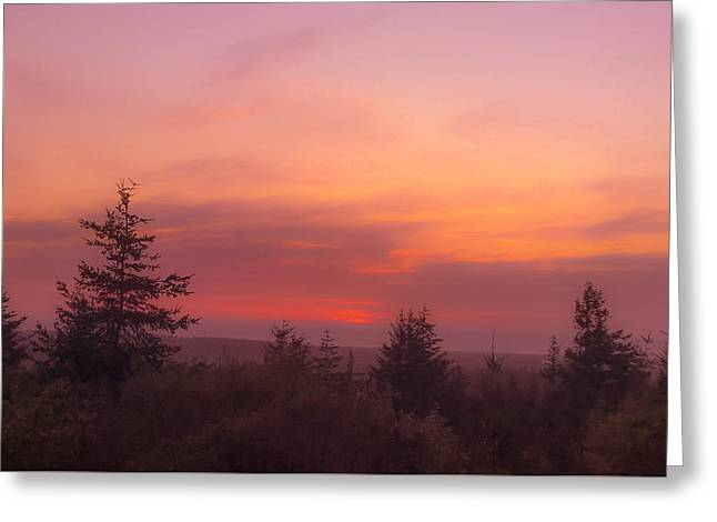 Painted Sky IIi Greeting Card