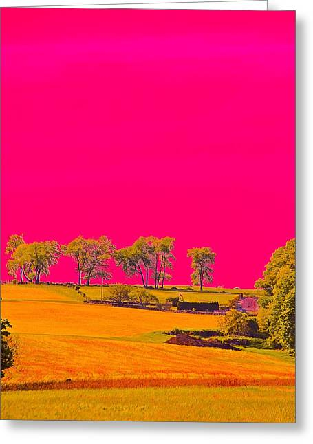 Painter Ridge Greeting Card by Gillis Cone