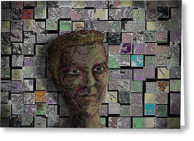 Painters Block Greeting Card by Steve  Hester