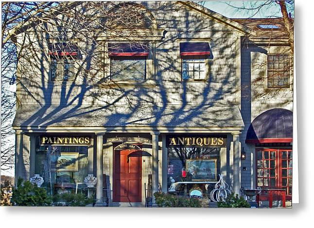 Paintings And Antiques Greeting Card