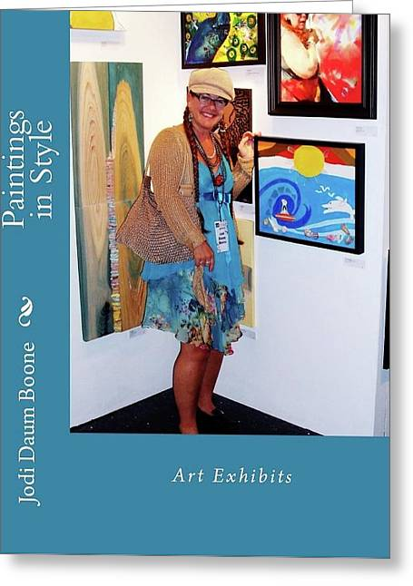 Paintings In Style Greeting Card by Jodi Daum Boone