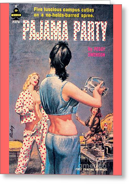 Pajama Party Greeting Card