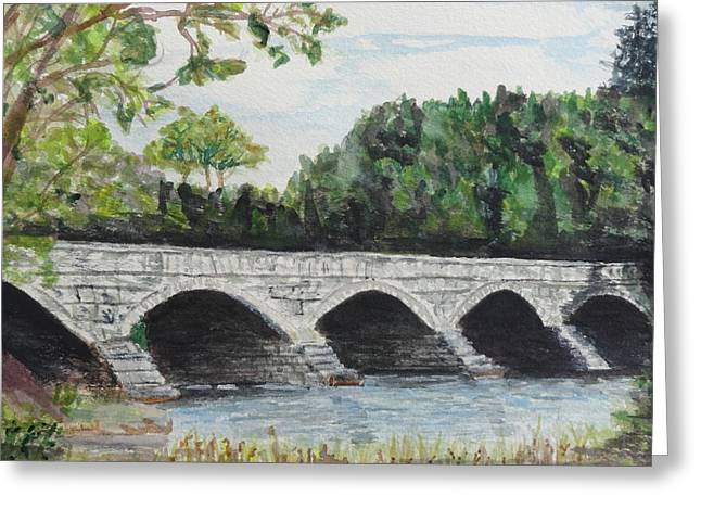 Pakenham Bridge Greeting Card