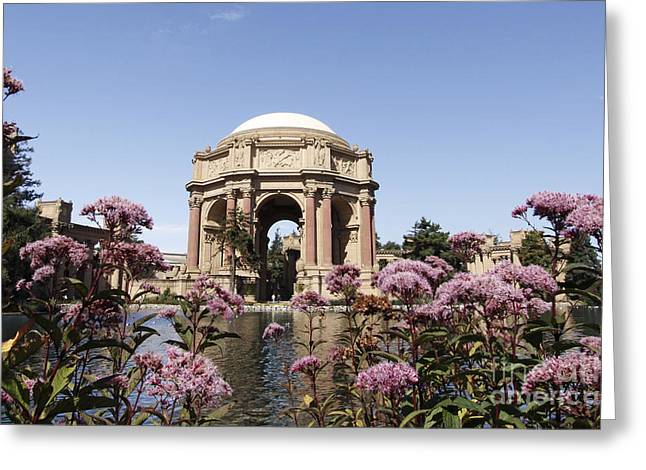 Palace Of Fine Arts Greeting Card by Denise Pohl