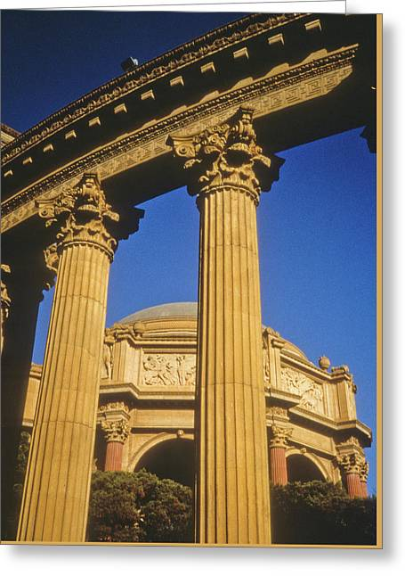 Palace Of Fine Arts, San Francisco Greeting Card