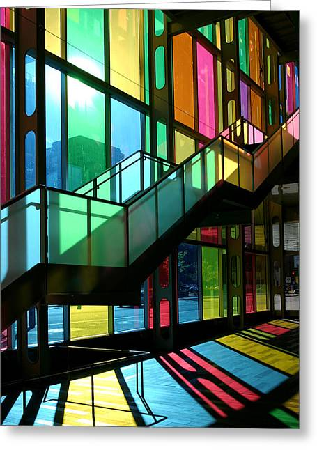 Palais Des Congres Montreal Canada Greeting Card by Pierre Leclerc Photography