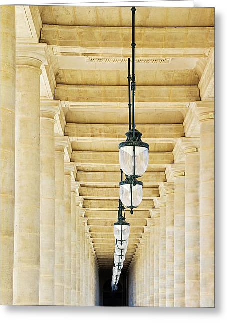 Palais-royal Arcade - Paris, France Greeting Card