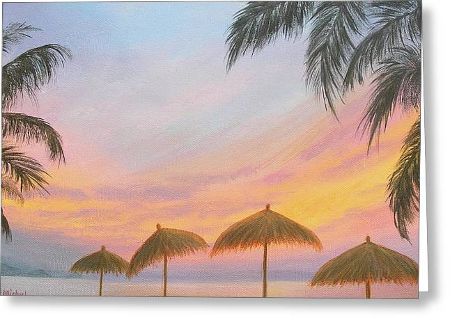 Palapa Point Greeting Card