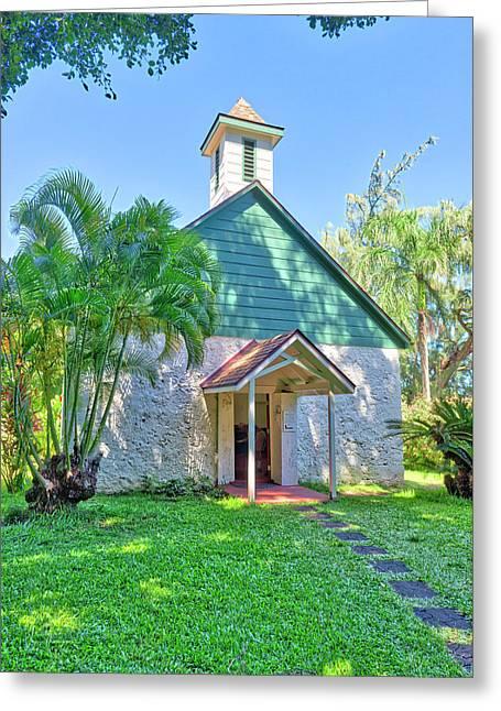 Palapala Ho'omau Congregational Church Greeting Card