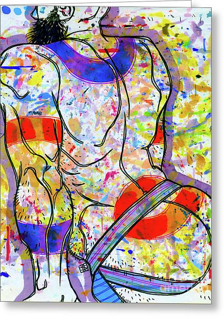 Palette Lad 15 Greeting Card