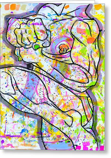 Palette Lad 16 Greeting Card