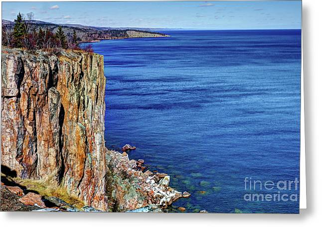 Palisade Head Tettegouche State Park North Shore Lake Superior Mn Greeting Card