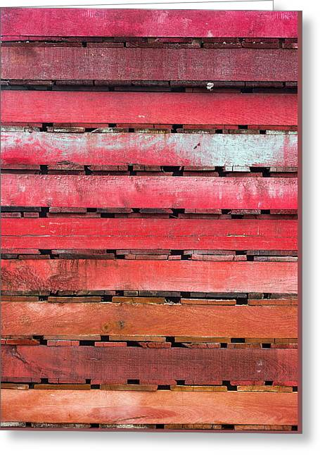 Pallette Greeting Card by Steven Maxx