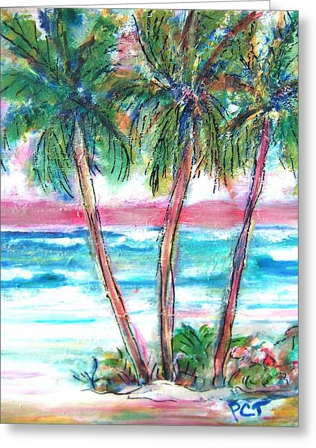 Palm Beach Holiday Greeting Card