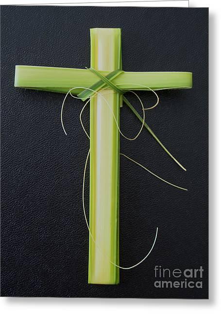 Palm Cross Greeting Card