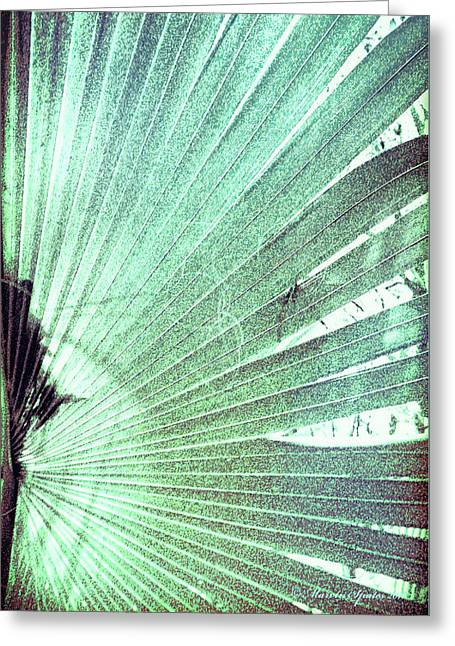 Palm Frond-rh Greeting Card