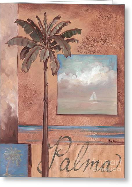 Palma Greeting Card by Paul Brent