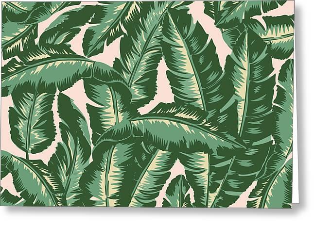 Palm Print Greeting Card