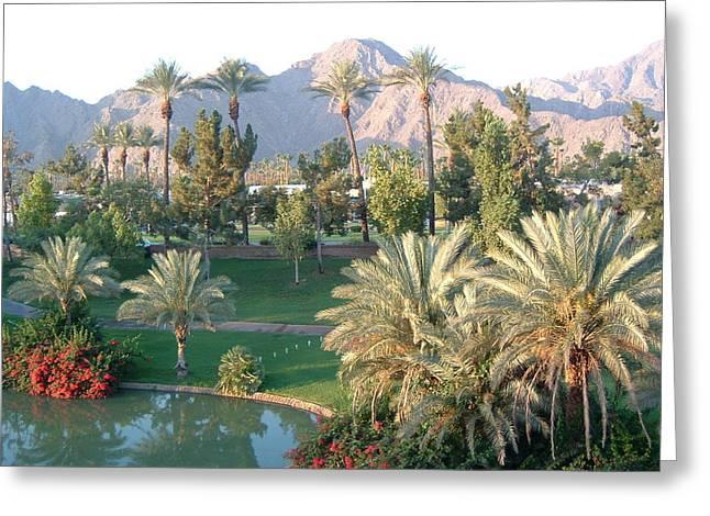 Palm Springs Ca Greeting Card by Cheryl Ehlers