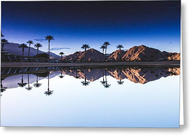Palm Springs Reflection Greeting Card