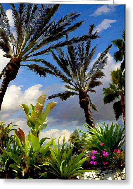 Palm Sunday Greeting Card by Ron Chambers