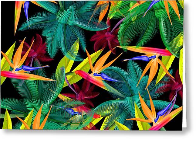 Palm Tree 4 Greeting Card by Mark Ashkenazi
