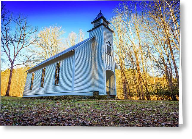 Palmer Chapel Methodist Church Greeting Card