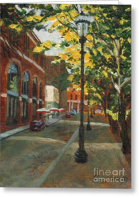 Palmer Street Greeting Card