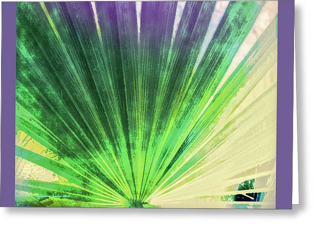 Palmetto Abstract No. 2 Greeting Card by Marvin Spates