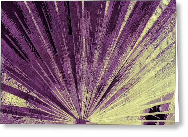 Palmetto Abstract No. 3 Greeting Card by Marvin Spates